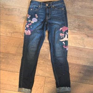 Embroidered Aéropostale jeans